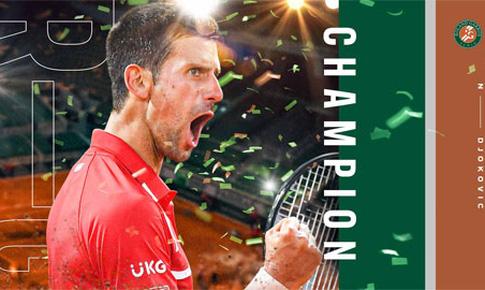 Novak Djokovic hướng đến trở thành tay vợt vĩ đại nhất
