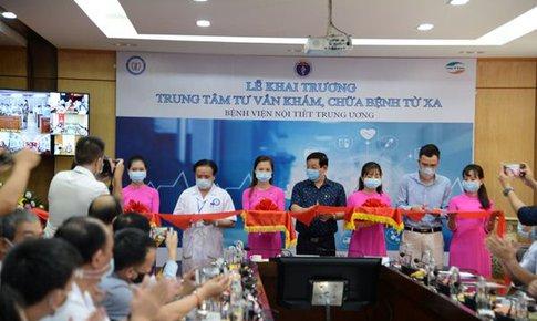 Bệnh viện Nội tiết Trung ương: Khai trương trung tâm tư vấn, khám chữa  bệnh từ xa mùa COVID-19