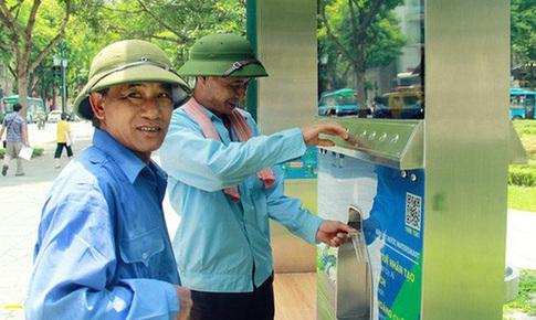 Hà Nội: Lắp đặt cây lọc nước uống miễn phí tại các điểm du lịch
