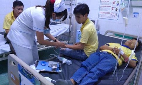 TP. HCM: 47 công nhân nhập viện cấp cứu nghi ngộ độc thực phẩm