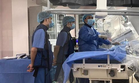 Kỹ thuật mới thành công cho bệnh nhân bị hẹp đường mật rất nặng