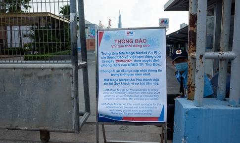 Nhân viên là F0, khẩn cấp tìm người đến Mega Market An Phú