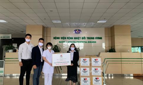 Doppelherz Vietnam ủng hộ phòng chống dịch tại các cơ sở tuyến đầu