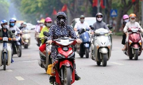 Nguy cơ mất an toàn giao thông từ áo chống nắng